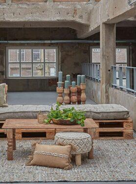 houten kandelaars groot - Pure Wood
