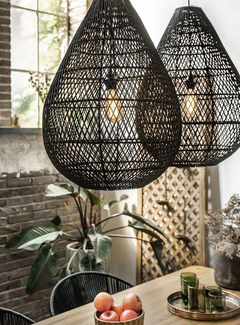 Hanglamp Maze zwart