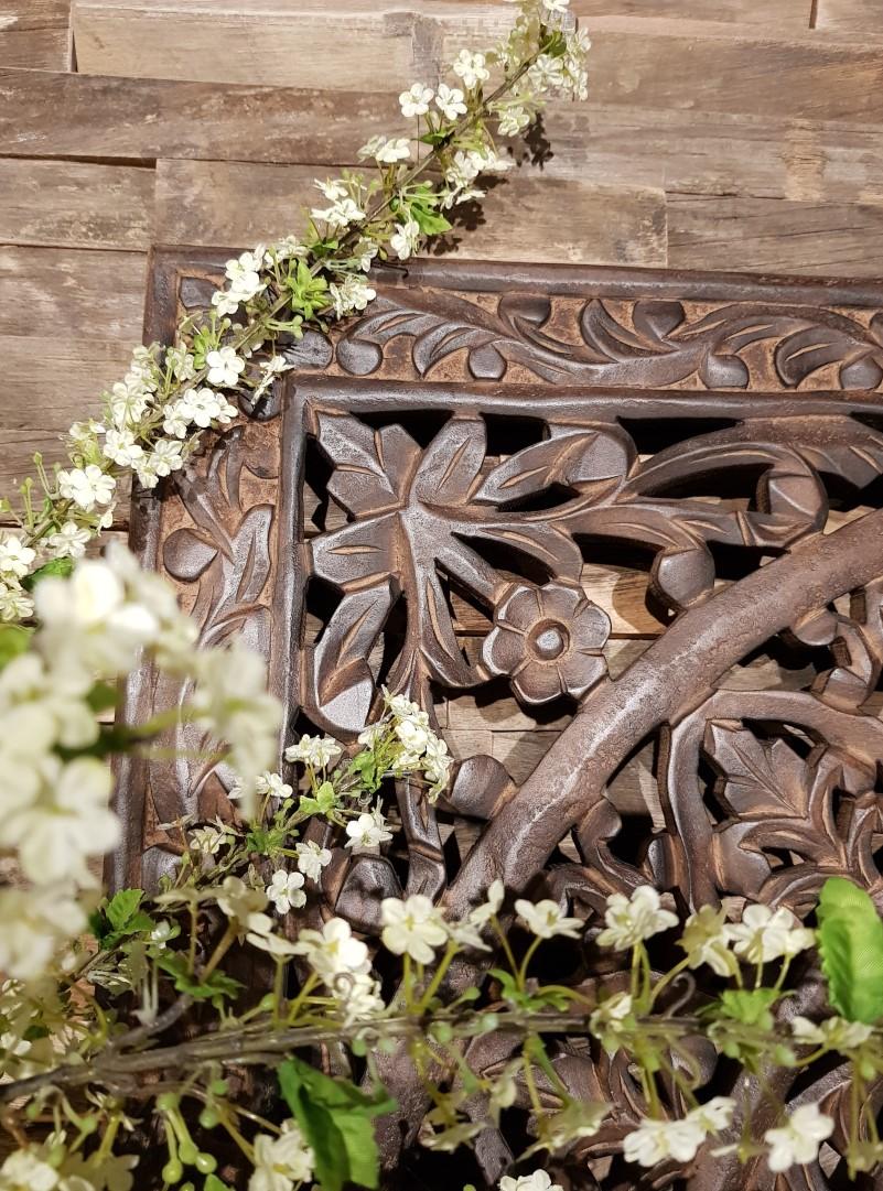Wandpaneel hout detail