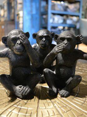 Apen-zwart