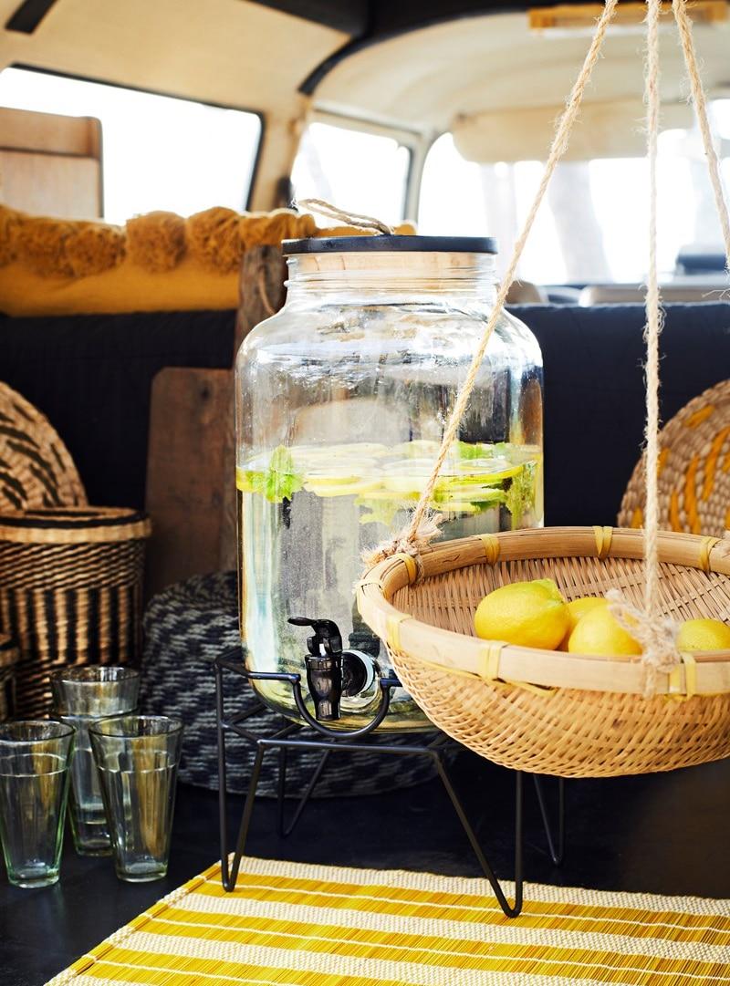 Madam Stoltz limonadetap met houder
