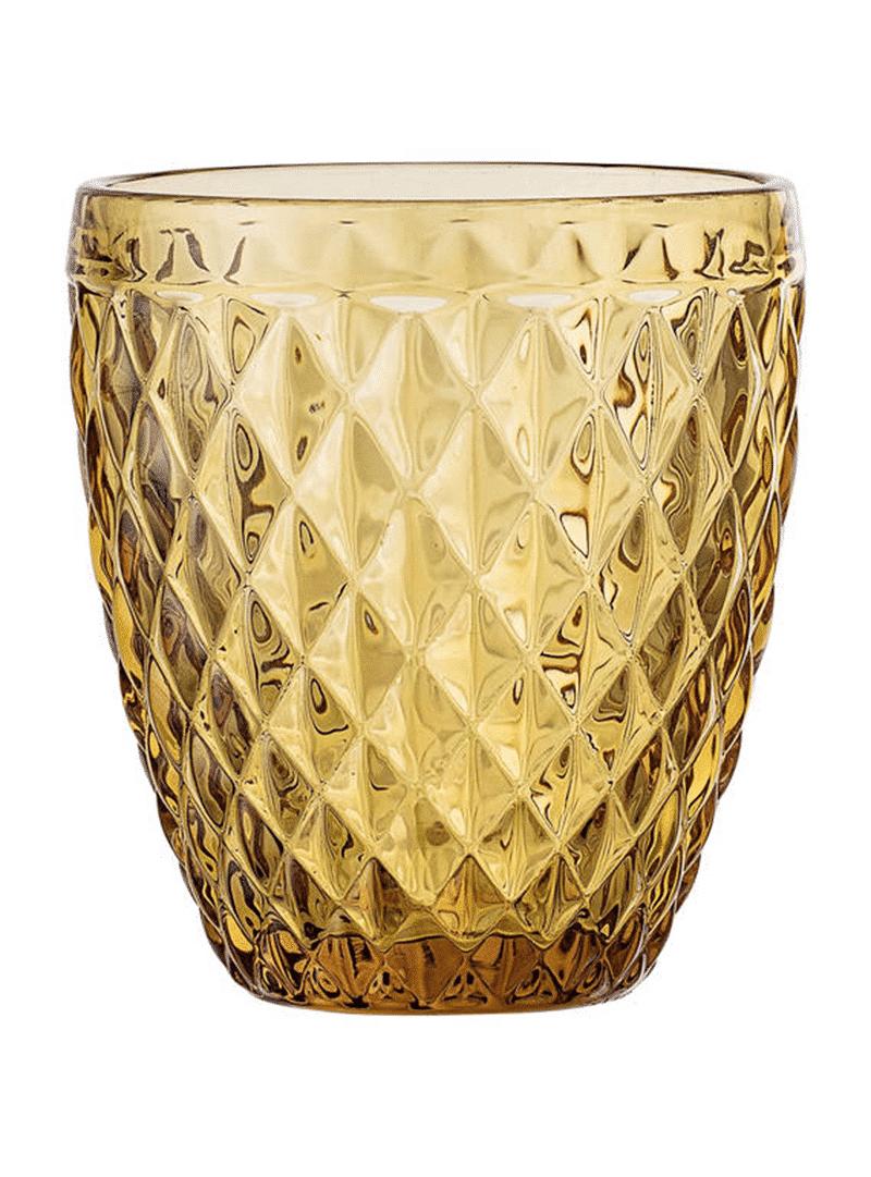 Bloomingville drinkglas bruin 3