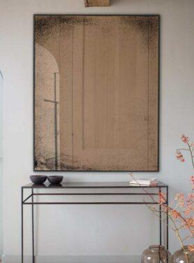 bronze spiegel industrieel