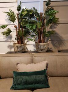 Palmboom zijde