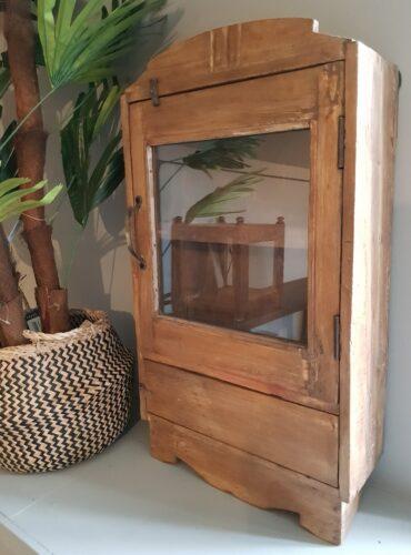 Hangkast naturel 2 deur uniek