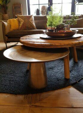 Salontafel-rustiek-oud-hout-rond-2