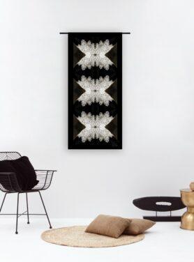 Wandkleed velvet Amsterdam-Andreas Lilian van Veen