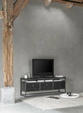 D-BODHI TV MEUBEL TUAREG BLACK NO.2 150 CM4