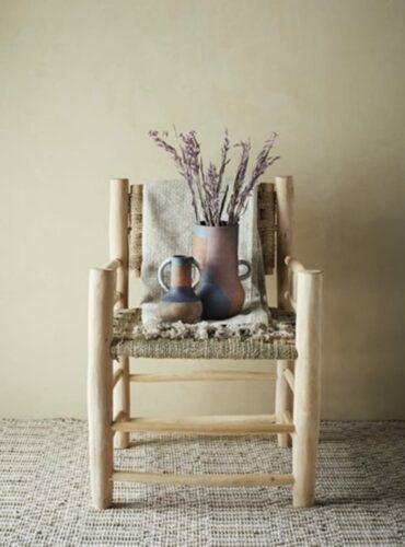 Terracotta vaas met handvatten 2