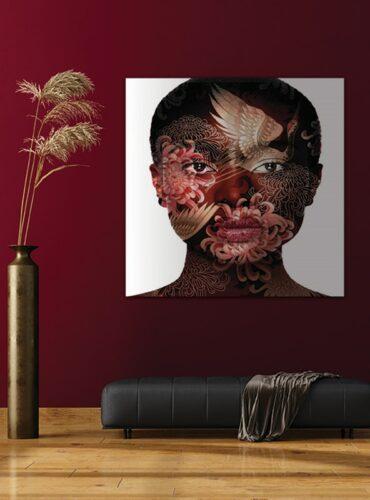 Alu art artistic make-up