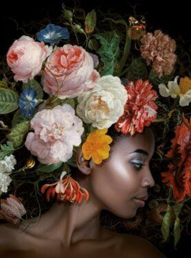 Alu art flower power eva 2