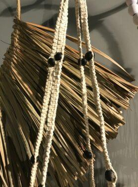 Hanger basket naturel 2