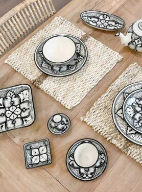 Ontbijtbord stoneware Haqima 2