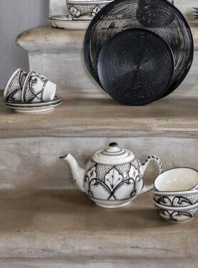 Theepot stoneware Haqima 2