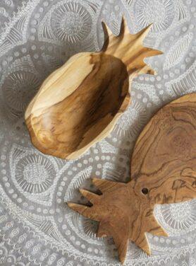 Schaal-ananas-teak