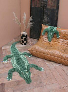 doing-goods-vloerkleed-coolio-krokodil