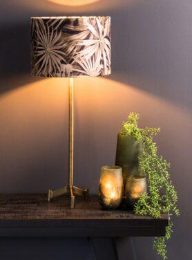 Lampenkap-velvet-palm-sepia-4