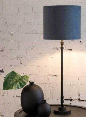 Lampvoet-bhutan-mat-zwart