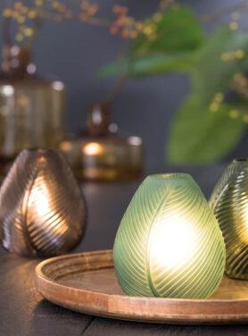 Led lamp leaf sfeerfoto