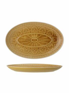 Rani serving plate geel1