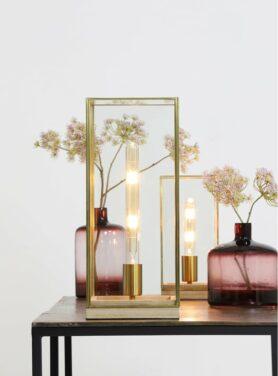 Tafellamp-askjer-hout-naturel-brons
