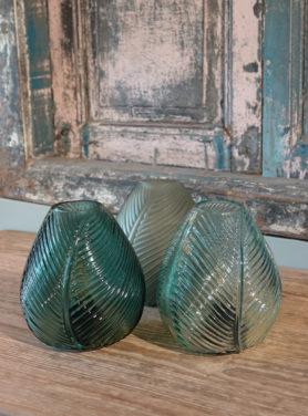 Tafellamp Leaf Glas