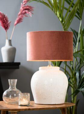 lampenkap-dusky-pink