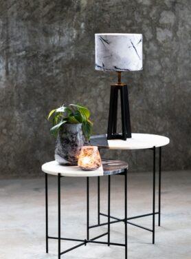 lampenkap-marble-grijs