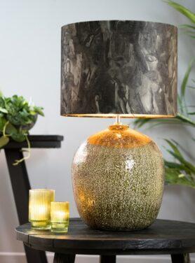 lampenkap-marble-groen