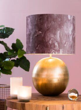 lampenkap-marble-roze