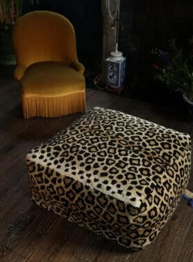 Leopard Poef