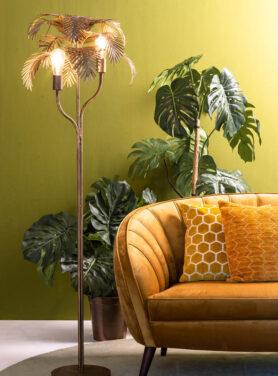Tafellamp Palm Antiek Brons 2
