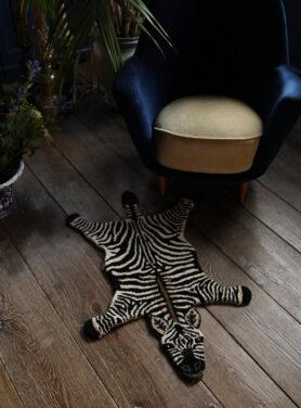 Doing Goods Vloerkleed Stripey Zebra