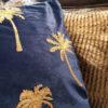 Kussen Palm Tree Blue 3