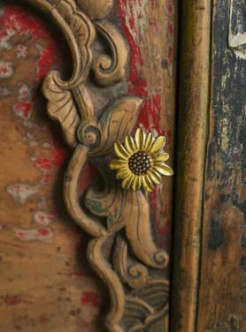 Sunny Sunflower Kastknop 2