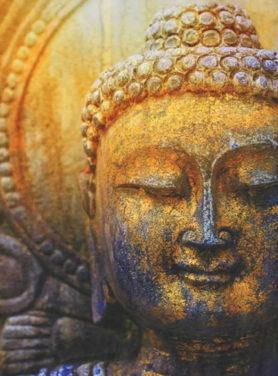 Wandkleed Budha 2