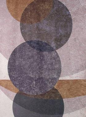 Wandkleed Circles Mix 2