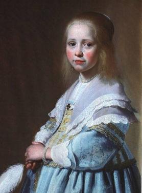 Wandkleed portret