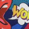 Wandkleed Wow 2