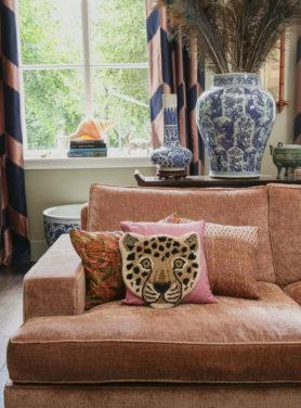Vloerkleed Mini Loony Leopard
