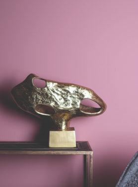 Ornament Op Voet Dorisa Gold
