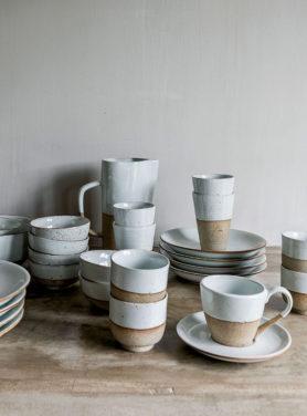 Servies Stoneware Sandy