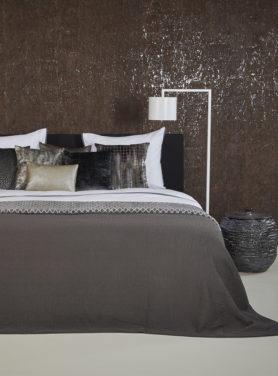 Bedspread Tui Dark Taupe 2