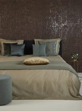 Bedspread Tui Grey Mint 2